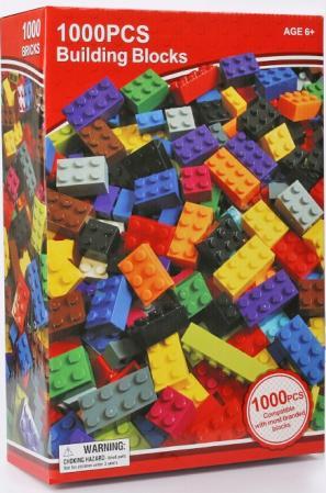 Wholesale: Toy Building Blocks, 1000 Pcs , Lego-compatible